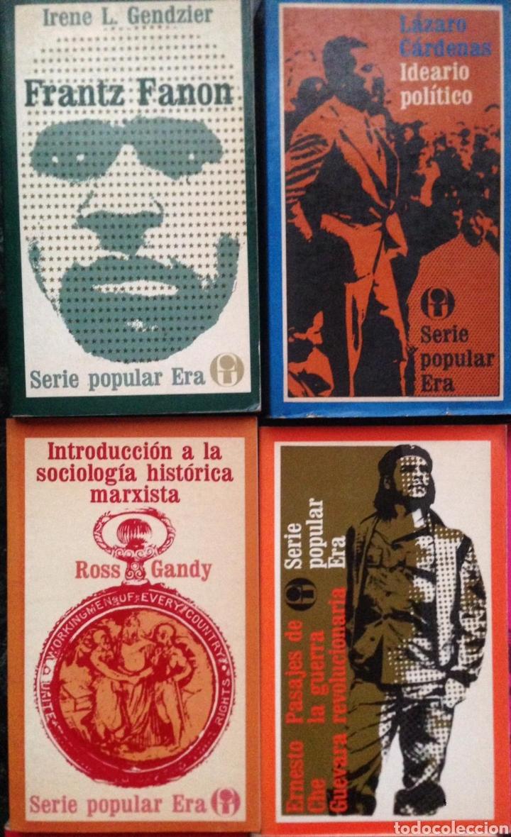 Bücher: GRAN LOTE 26 LIBROS EDITORIAL ERA SERIE POPULAR POLITICA - Publicados en México 1970s - Foto 4 - 152159158