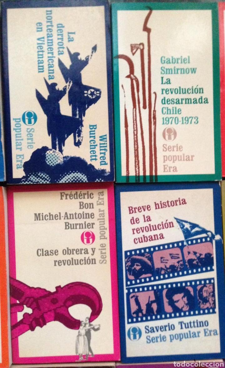 Bücher: GRAN LOTE 26 LIBROS EDITORIAL ERA SERIE POPULAR POLITICA - Publicados en México 1970s - Foto 5 - 152159158
