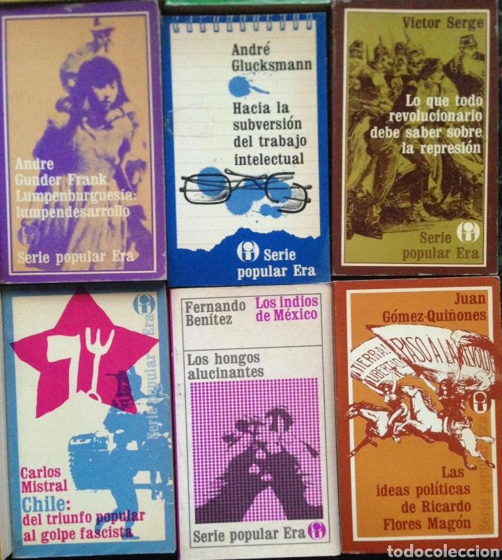 Bücher: GRAN LOTE 26 LIBROS EDITORIAL ERA SERIE POPULAR POLITICA - Publicados en México 1970s - Foto 7 - 152159158