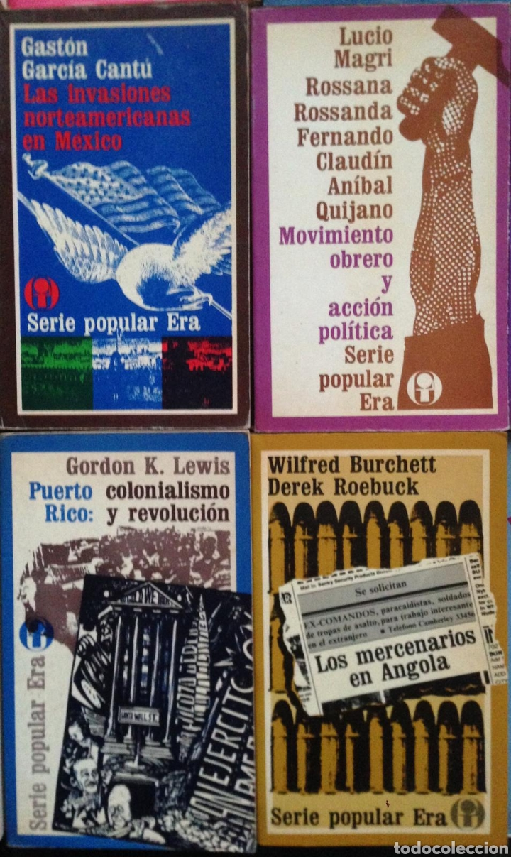 Bücher: GRAN LOTE 26 LIBROS EDITORIAL ERA SERIE POPULAR POLITICA - Publicados en México 1970s - Foto 8 - 152159158
