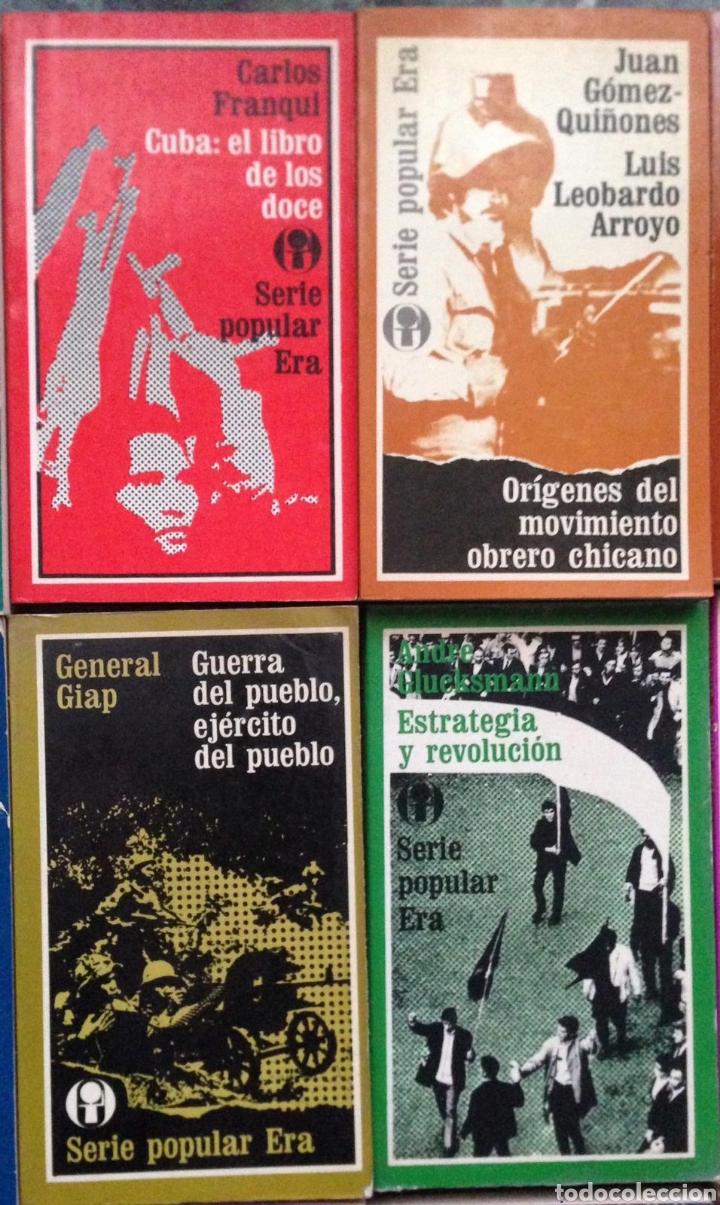 Bücher: GRAN LOTE 26 LIBROS EDITORIAL ERA SERIE POPULAR POLITICA - Publicados en México 1970s - Foto 9 - 152159158