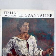 Libros: EL GRAN TALLER DE ITALIA: 1460-1500. Lote 205177356