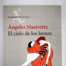 Libros: EL CIELO DE LOS LEONES. Lote 152384673