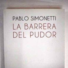 Libros: LA BARRERA DEL PUDOR. Lote 152384682