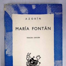 Libros: MARÍA FONTÁN: (NOVELA ROSA). Lote 152391736