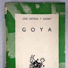 Libros: GOYA. Lote 152391740