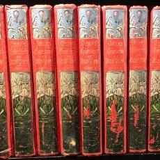 Libros: OBRAS COMPLETAS DE JULIO VERNE (14 VOL.) - VERNE, JULIO. Lote 152266188