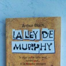 Libros: LA LEY DE MURPHY. Lote 153559292