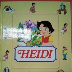 Libros: HEIDI. ED RBA. COLECCIÓN DE FASCÍCULOS COMPLETA ENCUADERNADOS.. Lote 154165698