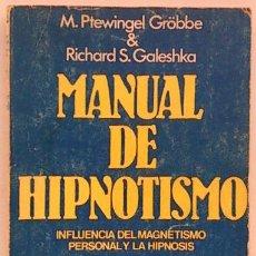 Libros: HIPNOTISMO. Lote 154590073