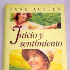 Libros: JUICIO Y SENTIMIENTO. Lote 154885489