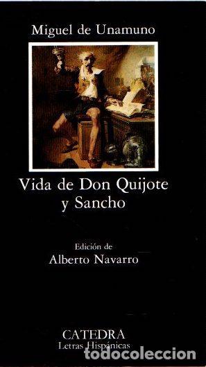 VIDA DE DON QUIJOTE Y SANCHO - UNAMUNO, MIGUEL DE (Libros sin clasificar)