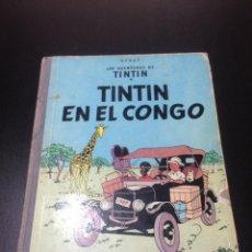 Libros: TINTIN. EN EL CONGO - PRIMERA EDICION AÑO 1968. Lote 155839293