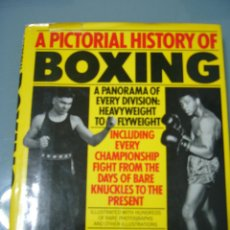 Libros: A PICTORIAL HISTORY OF BOXING. Lote 155852758
