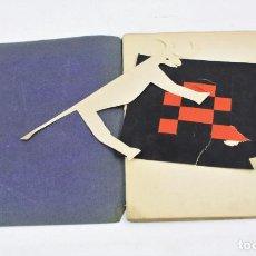Libros: LIBRITO ANÓNIMO DE COLLAGES VANGUARDISTAS. VER FOTOS ANEXAS. 21X15CM. Lote 155926006