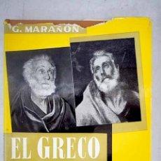 Libros: EL GRECO Y TOLEDO. Lote 156018514