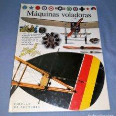 Libros: MAQUINAS VOLADORAS ANDREW NAHUM AÑOS 90 VER FOTOS Y DESCRIPCION. Lote 156264550