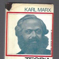 Libros: TEORIA ECONOMICA. Lote 156448845