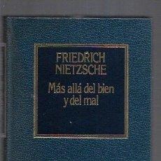 Libros: MAS ALLA DEL BIEN Y DEL MAL. Lote 156448853