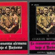 Libros: ECONOMIA ALEMANA BAJO EL NAZISMO - LA (2 TOMOS). Lote 156448860