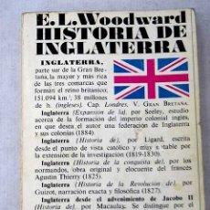 Libros: HISTORIA DE INGLATERRA. Lote 156451229