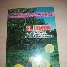 Libros: EL LIMÓN 1964 - JOSÉ CASTRO. Lote 156454234