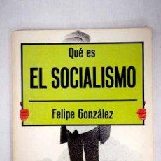 Libros: QUÉ ES EL SOCIALISMO. Lote 156464053