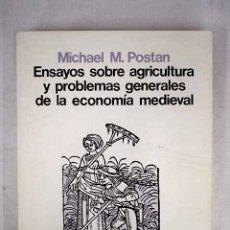 Libros: ENSAYOS SOBRE AGRICULTURA Y PROBLEMAS GENERALES DE LA ECONOMÍA MEDIEVAL. Lote 156464070