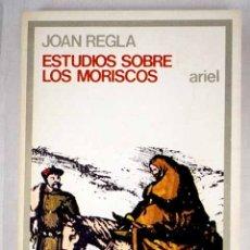Libros: ESTUDIOS SOBRE LOS MORISCOS. Lote 156464164