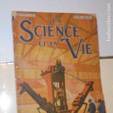 Libros: LA SCIENCE ET LA VIE Nº 109 JUILLET 1926 EN FRANCES. Lote 156549034