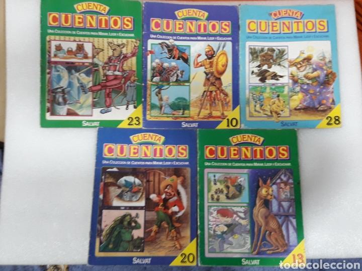 LOTE DE 5 CUENTA CUENTOS N°10,13,20,23,28 (Libros sin clasificar)