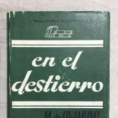 Libros: EN EL DESTIERRO. Lote 127314251