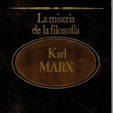 Libros: LA FILOSOFIA DE LA MISERIA - KARL MARX. Lote 157370645