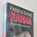 Libros: KARMA - LEONI. Lote 157674860