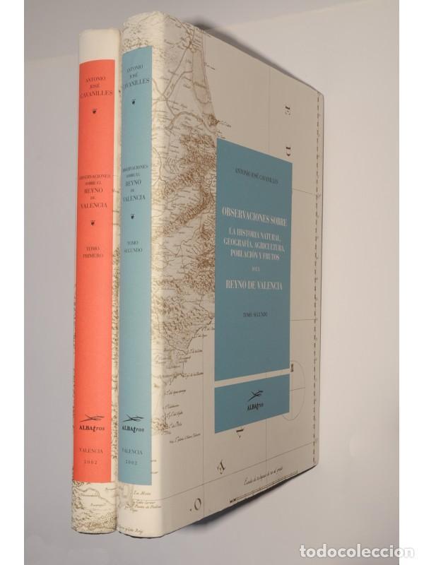 OBSERVACIONES SOBRE LA HISTORIA NATURAL, GEOGRAFÍA, AGRICULTURA, POBLACIÓN Y FRUTOS DEL REYNO DE VAL (Libros sin clasificar)