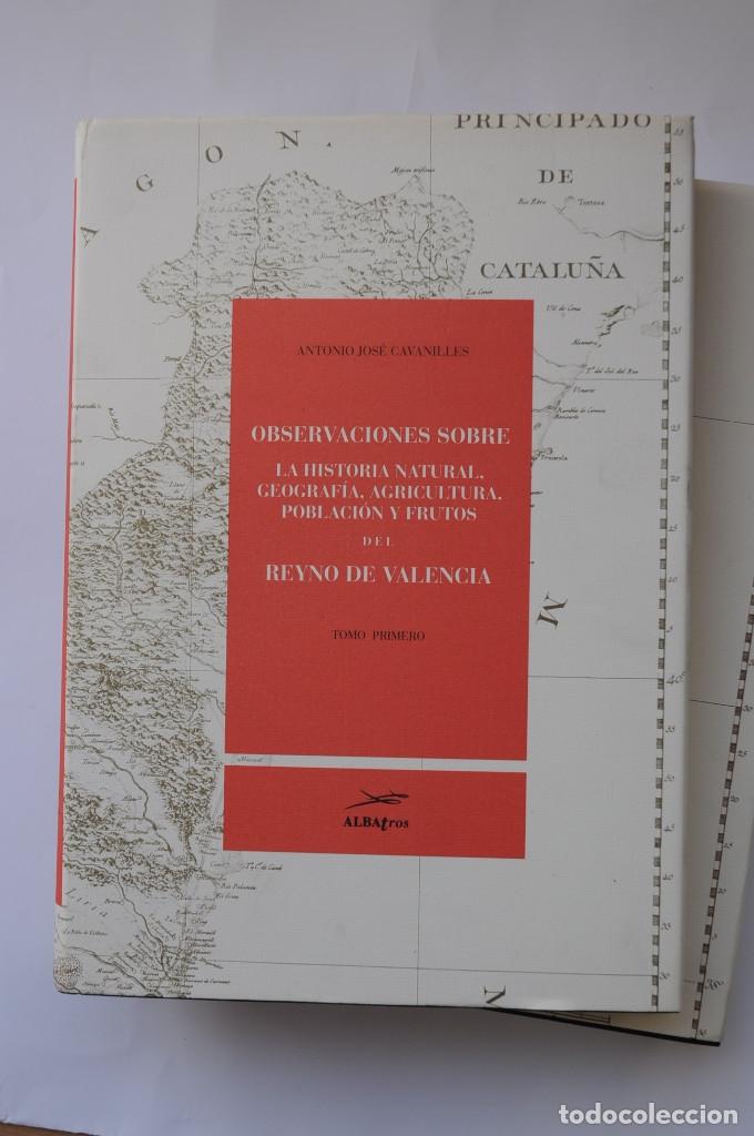 Libros: Observaciones sobre la historia natural, geografía, agricultura, población y frutos del Reyno de Val - Foto 2 - 157718878