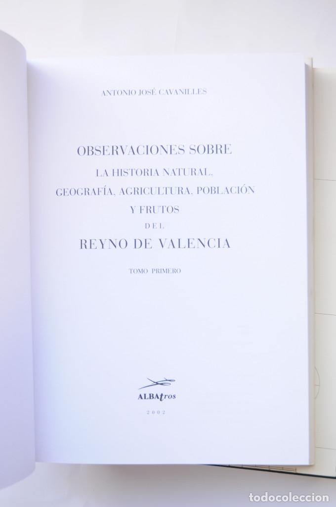 Libros: Observaciones sobre la historia natural, geografía, agricultura, población y frutos del Reyno de Val - Foto 4 - 157718878