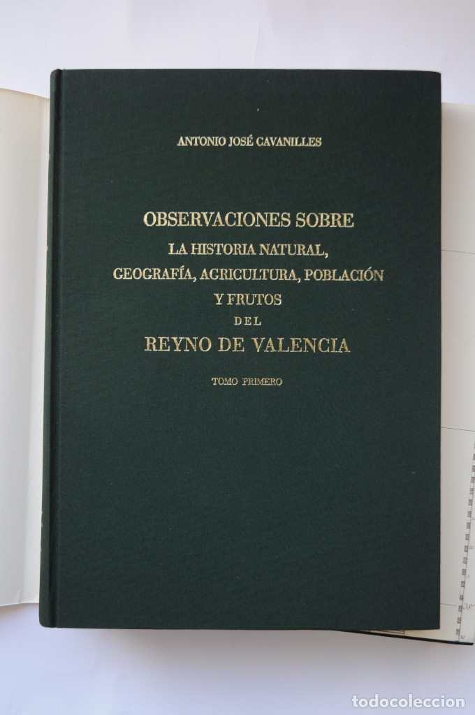 Libros: Observaciones sobre la historia natural, geografía, agricultura, población y frutos del Reyno de Val - Foto 3 - 157718878