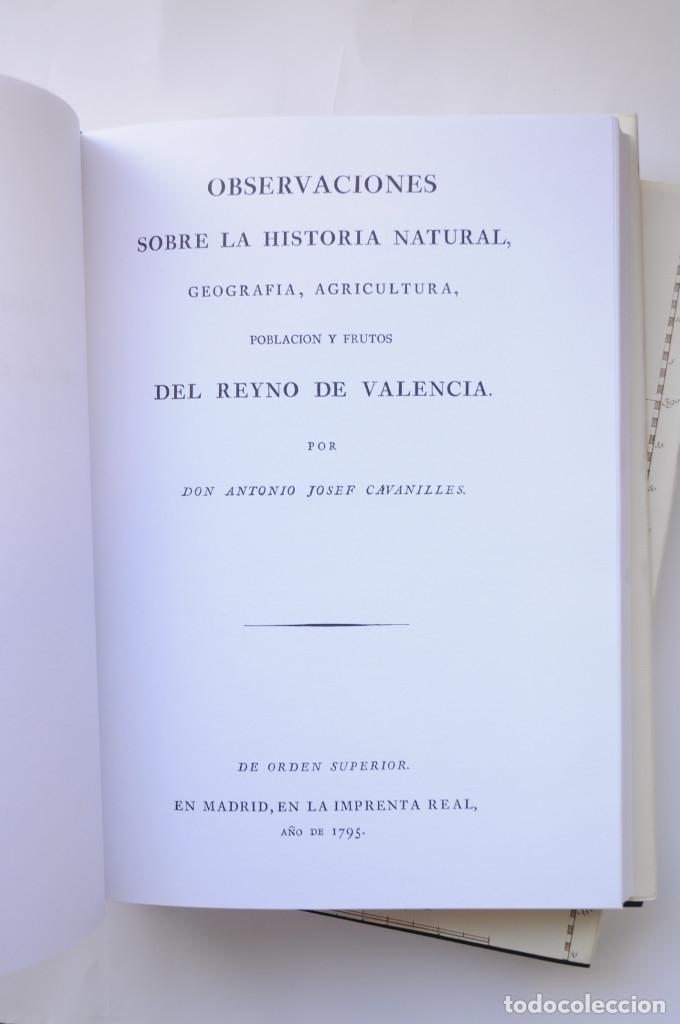 Libros: Observaciones sobre la historia natural, geografía, agricultura, población y frutos del Reyno de Val - Foto 6 - 157718878