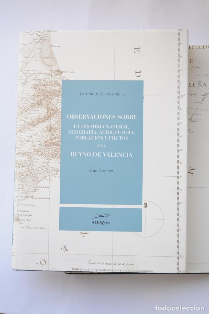 Libros: Observaciones sobre la historia natural, geografía, agricultura, población y frutos del Reyno de Val - Foto 10 - 157718878