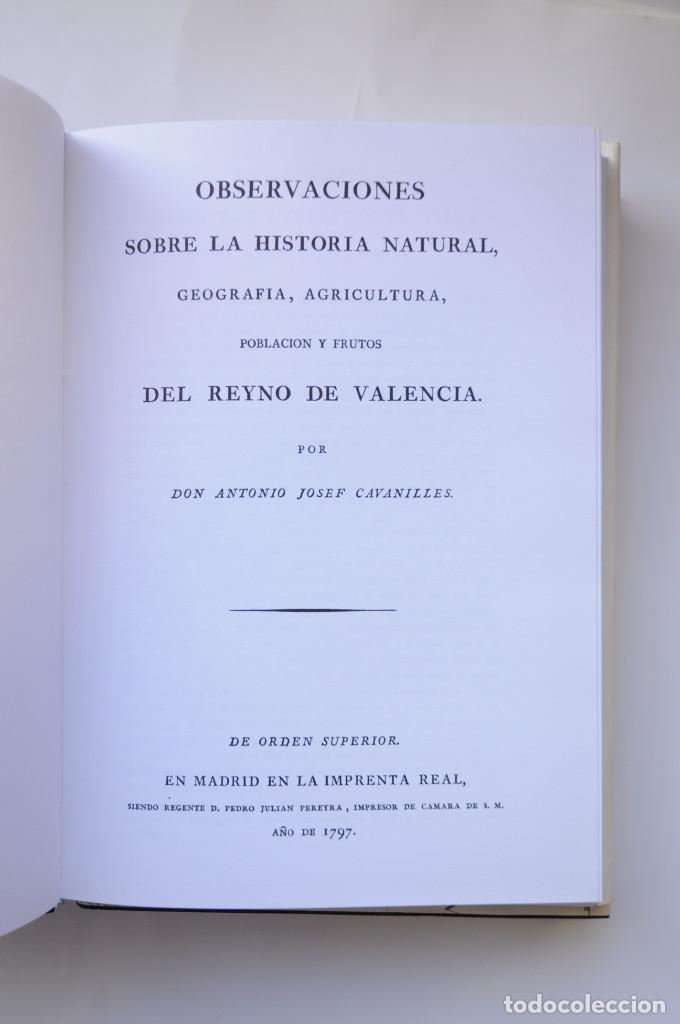Libros: Observaciones sobre la historia natural, geografía, agricultura, población y frutos del Reyno de Val - Foto 13 - 157718878