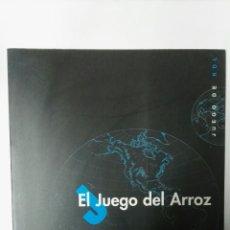 Libros: EL JUEGO DEL ARROZ JUEGO DE ROL. Lote 157898780