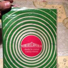 Libros: ANTIGUO DIETARIO DEL AÑO 1969 ALMACENES CAPITOL S.A. BARCELONA . Lote 158476574
