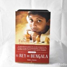 Livros: EL REY DE BENGALA - FAHIM XABIER PARMENTIER. Lote 158677889