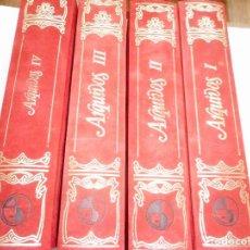 Libros: ARQUIVOS DO SEMINARIO DE ESTDUOS GALEGOS(4 TOMOS) Y93411. Lote 158718838
