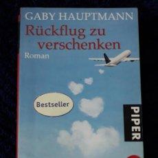 Libros: RÜCKFLUG ZU VERSCHENKEN. Lote 158961518