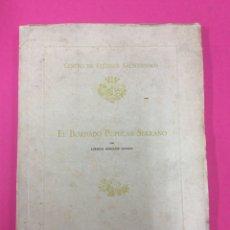 Libros: EL BORDADO POPULAR SERRANO - CENTRO DE ESTUDIOS. SALMANTINOS- LORENZO GONZÁLEZ IGLESIAS. Lote 159122100