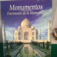Libros: MONUMENTOS PATRIMONIO DE LA HUMANIDAD. Lote 159228213