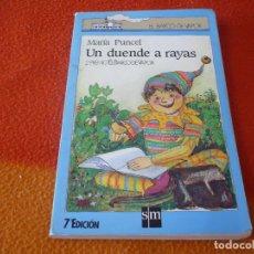 Libros: UN DUENDE A RAYAS ( MARIA PUNCEL ) BARCO DE VAPOR. Lote 182348515