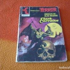 Libros: ANGELES DE ALAS NEGRAS ( CLARK CARRADOS ) TERROR BRUGUERA Nº 505. Lote 159329494